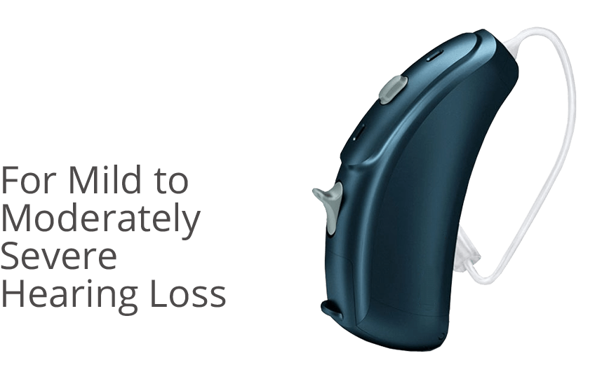 Open Fit hearing aids - For Mild to Moderately Severe Hearing Loss